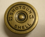 12 Gauge Shotgun Shell Casing, Brass Finish - B0701BP