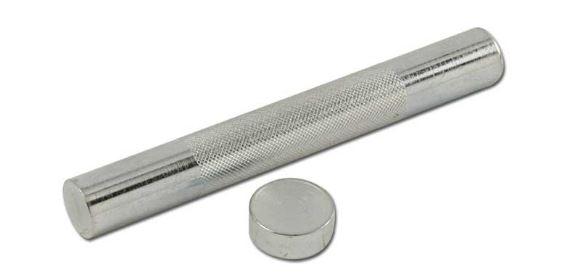 Rivet Machine Anvils : Extra large rivet setter with anvil