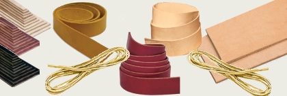 Shoe Repair One Inch Strip Leather