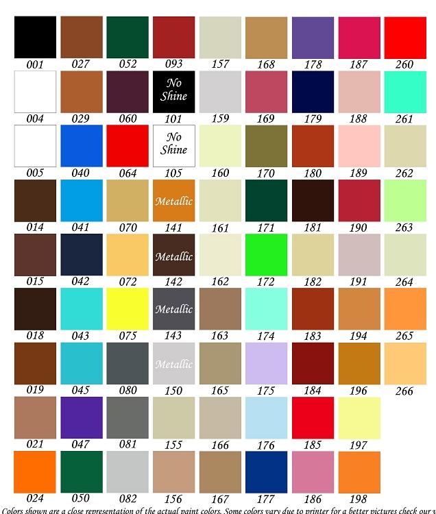 English Saddle Paint Color