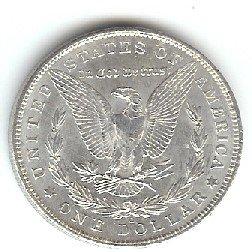 Eagle Head Dollar Concho Ch137202