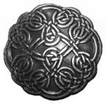 Silver Plated Celtic Knot Concho - CH916418