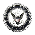 USA Navy Enameled Line 24 Snaps - B008069