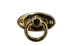Gold Stamped Drop Clasp - BC2381