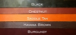 Premium European Leather Bridle Strips