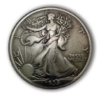 Standing Liberty Half Dollar Concho - CH137203