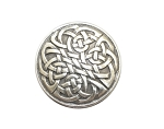Silver Plated Celtic Knot Concho - CH916518
