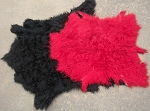Large Angora Woolskins (Red or Black)