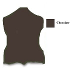 5/7 oz Chocolate Lace Sides - Z31020