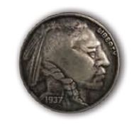 Indian Head Nickle - CH709301