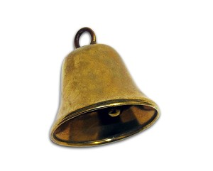 "1 1/2"" Solid Bronze Liberty Bell - H6186BZ"