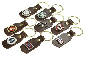 Key Fob with Decorative Emblem -  FG102