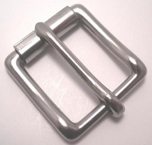 "1 1/2"" Stainless Steel Square Roller Buckle - B4924SS"