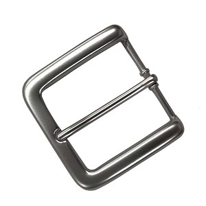 "1 1/2"" Heel Style Buckle with Dull Finish - B54024DN"