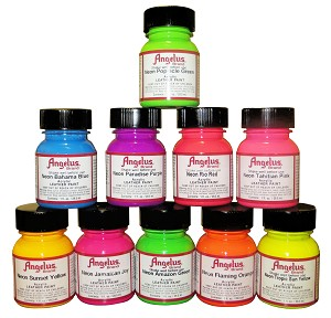 Angelus Neon Acrylic Leather Paint ( 1 oz. ) - CA725