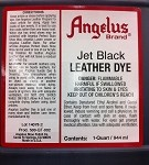 Angelus 32oz Leather Dye 02 Jet Black (Quart)