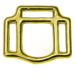 1in Solid Bronze 3 Way Halter Square - H37016BZ