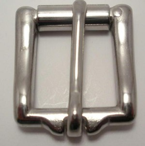 "3/4"" Stainless Steel Square Roller Buckle - B4912SS"