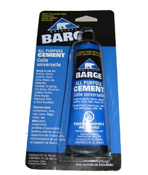 Barge Contact Cement (2 oz Tube) - A91102