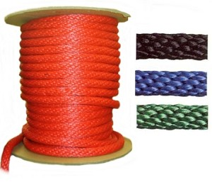 "5/8"" Solid Color Poly Rope (200ft Roll) - N7000C"