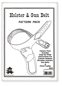 Holster and Gun Belt Patterns - P6031