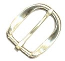 "3/4"" Polished Solid Brass Buckle - B635212PSB"