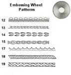 Osborne Embossing Wheels