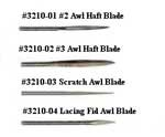 Peg Awl Replacment Blades