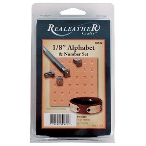 "1/8"" Alphabet and Number Set - T8132"