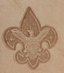Boy Scout 3D Stamp