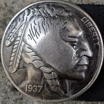 Indian Head Nickle Vest Extender