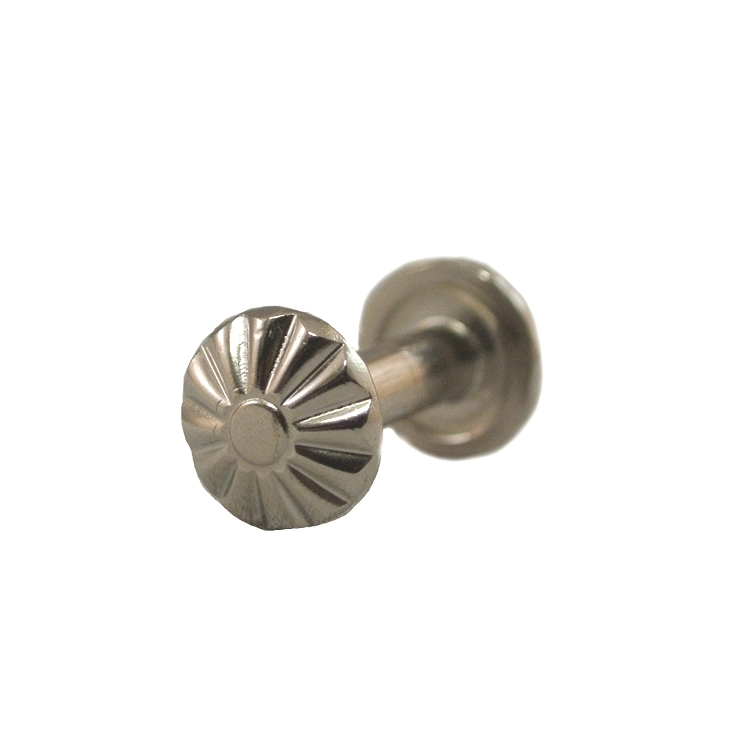 Decorative Floral Key Case Screw Post with Screw (10 Pack) - H911X