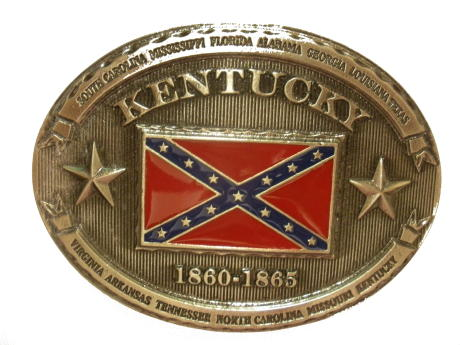 CSA Kentucky Cast Antique Epoxy Buckle - EB6033