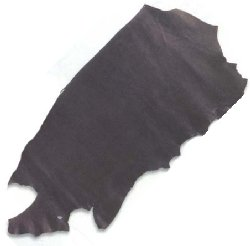 3 1/2 - 4 ounce Black Oil Tanned Sides - Z4813B