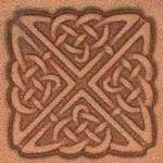 Square Celtic Craftool 3-D Stamp - 853800