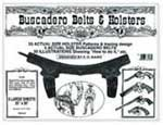 Buscadero Belts and Holsters - P6042