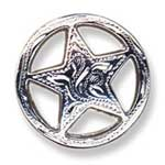 Engraved Star Concho - CH7989