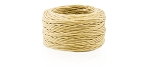 30 YD ROLL COARSE WAXED POLYESTER THREAD, NATURAL