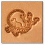 Southwest Lizard 3-D Stamp