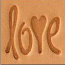 Love Medium 3-D Stamp