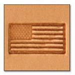 American Flag Medium 3-D Stamp