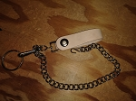 Wallet Chain W/Leather Loop