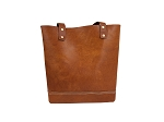 Antique Tan Ladies Tote with Wallet - MLTBAT