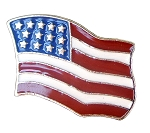 Line 24 U.S. Flag Snap (4pc Set) - B1024USA