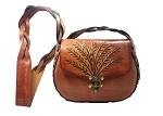 Medium Handbag with Wheat Design - ML025WH