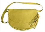 Daffodil Leather Hobo Handbag