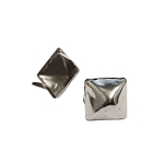 1/2in Nickel Plate Pyramid Spot (10 pk)