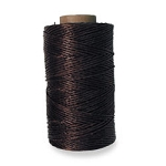 WAXED POLYESTER THREAD 1/4 LB-BROWN