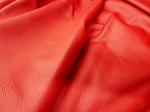 Red Mercedes Upholstery Whole Hide