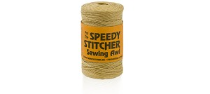 180 yd Roll Fine Waxed Polyester Thread in Natural - LT150180